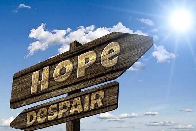 směrovka naděje