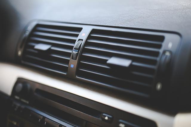 ventilátor auta