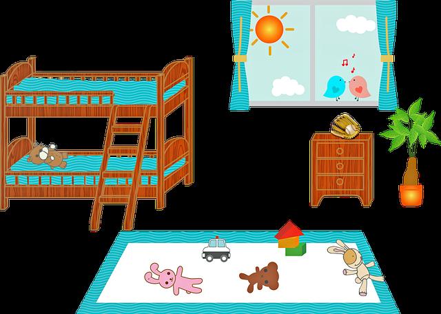 Patrová postel se schody a žebříkem pro vaše ratolesti
