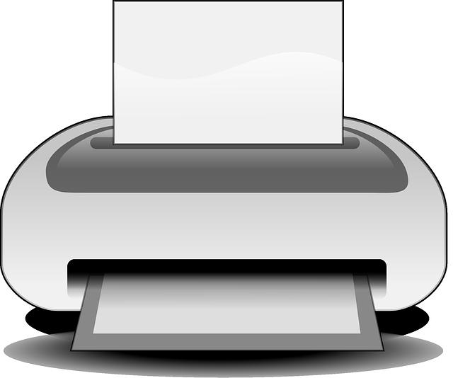 kreslená tiskárna