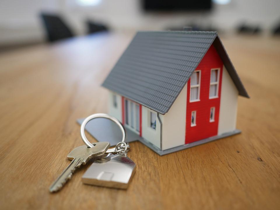 klíče od nemovitosti