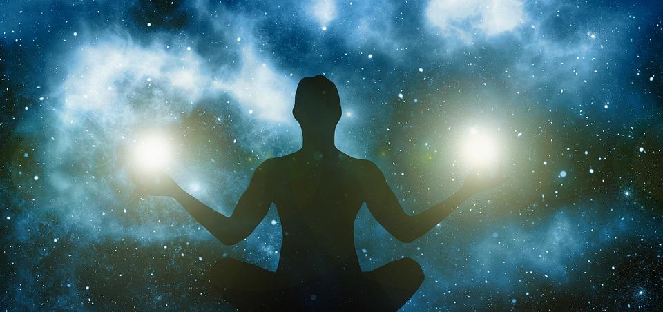 meditace vesmír